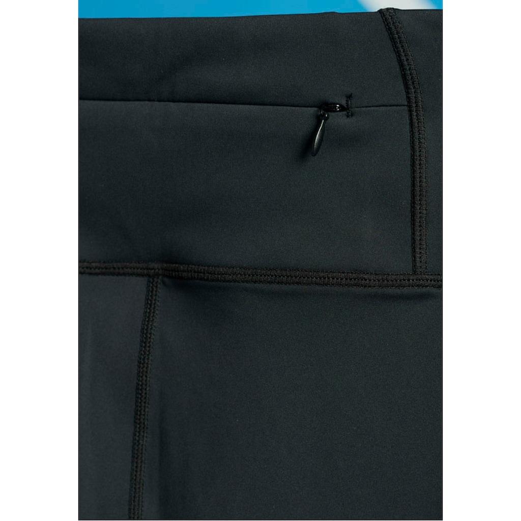 Superdry Sport Leggings »TRAINING ESSENTIAL CAPRI«, mit Reißverschluss-Tasche