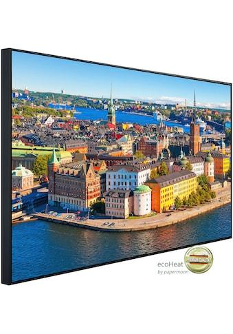 Papermoon Infrarotwandheizung »Stockholmer Altstadt«, sehr angenehme Strahlungswärme kaufen