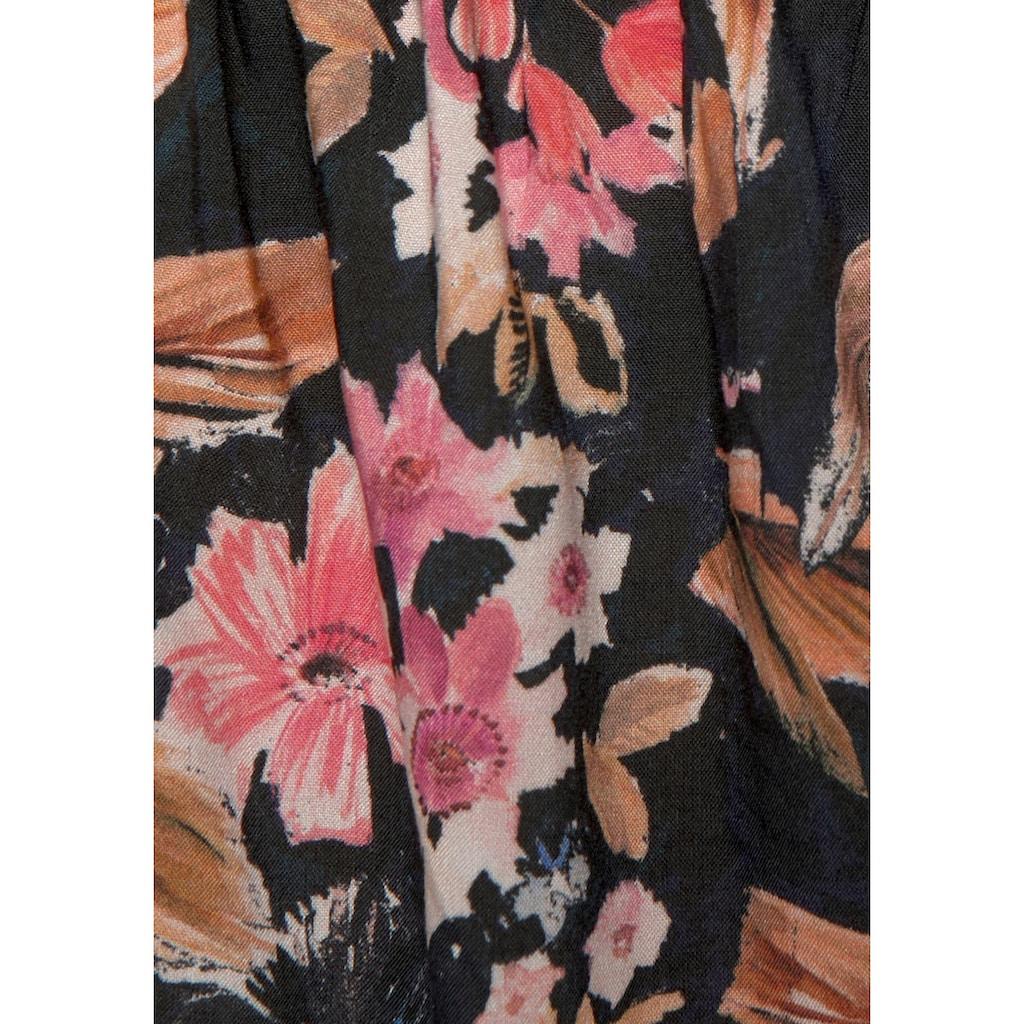 LASCANA Webshorts, mit Blumenprint