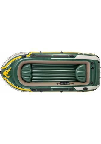 Intex Schlauchboot »Seahawk 4«, (Set, mit 2 Paddeln und Luftpumpe) kaufen