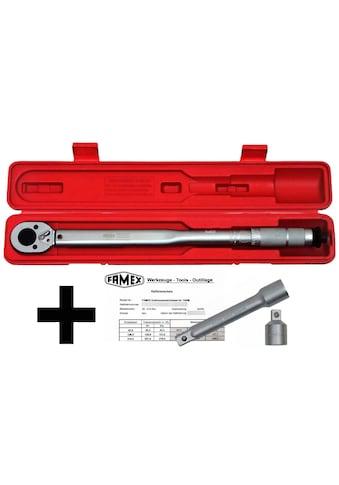 FAMEX Drehmomentschlüssel »Drehmoment-Schlüssel-Set 3-tlg.«, (3-tlg.)30-210 Nm kaufen