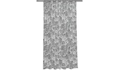 SEE∙MANN∙GARN Duschvorhang »Zebra« Breite 180 cm kaufen