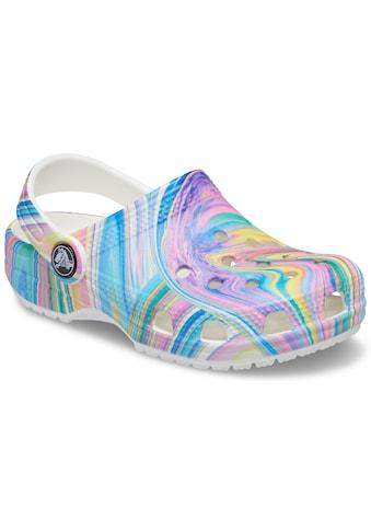 Crocs Clog »Classic Out of This World 2 Clog Kids«, mit buntem Farbverlauf kaufen