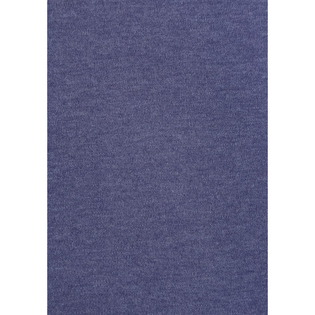KangaROOS Kapuzensweatshirt, mit kontrastfarbenden Ärmeln in Raglan-Optik