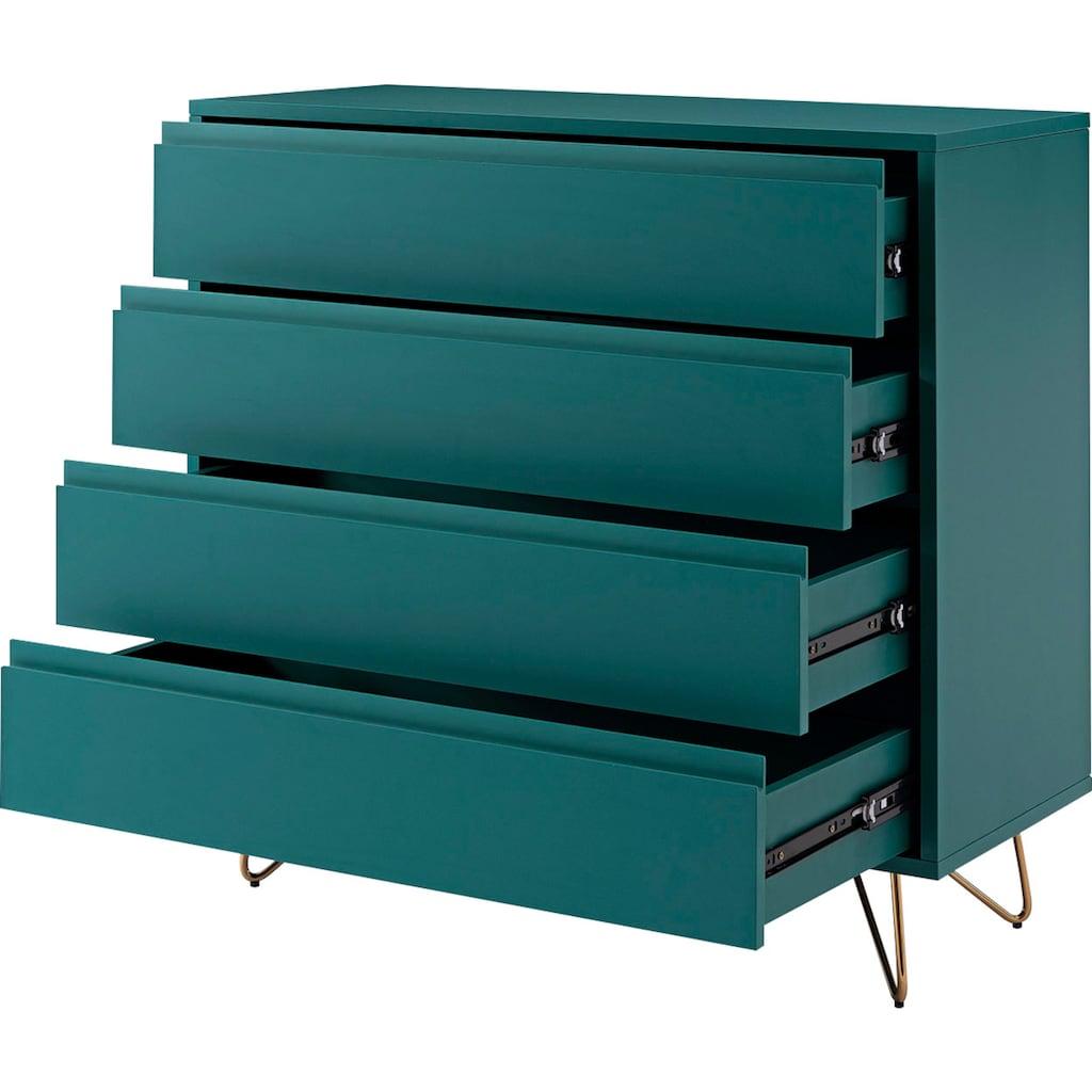 SalesFever Kommode, in tollen Farben, Sideboard, Flurschrank, Anrichte