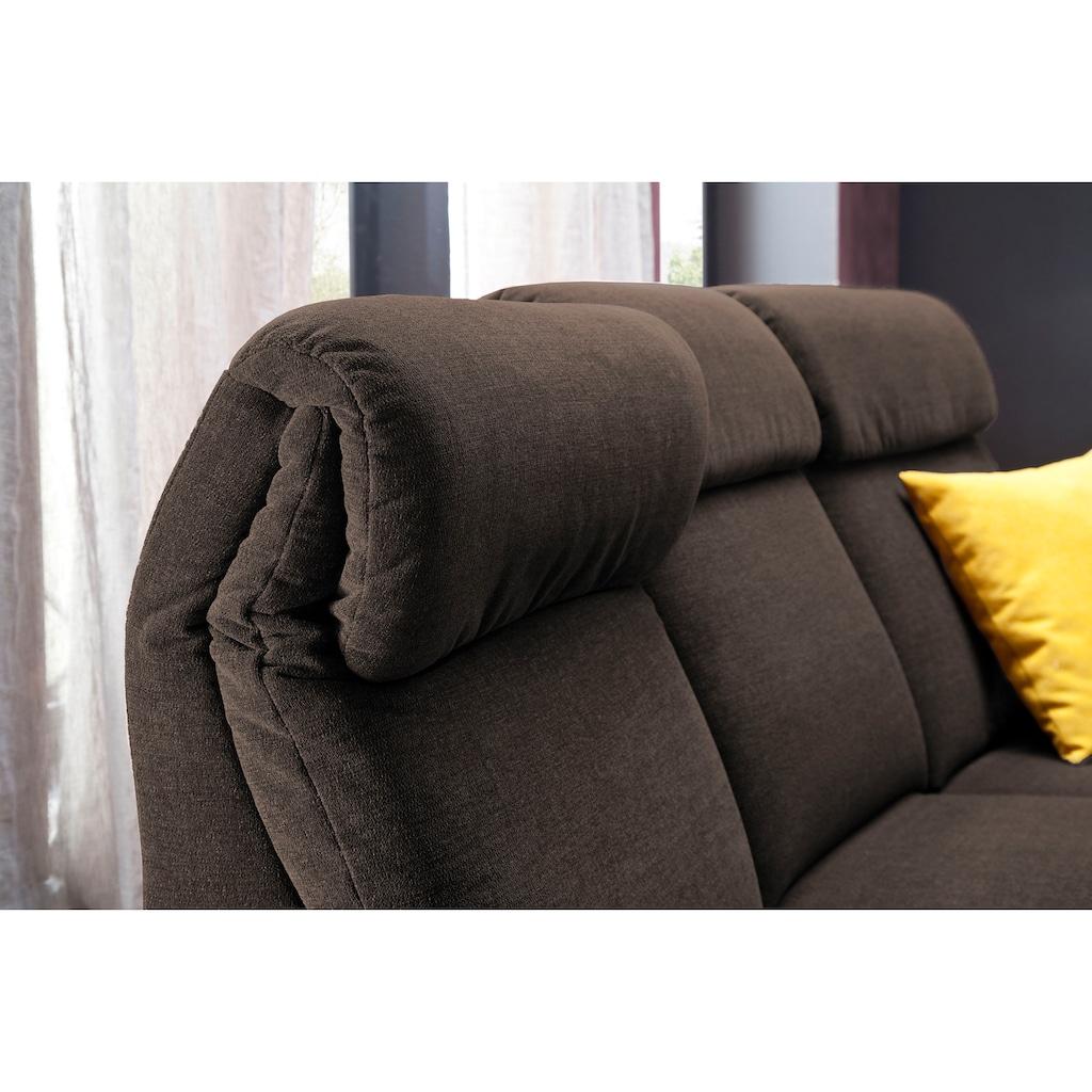 DELAVITA 2-Sitzer »Turin«, wahlweise mit motorischer Relaxfunktion, auch in Leder erhältlich
