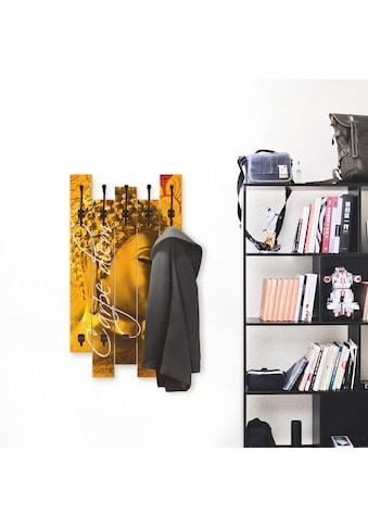 Artland Garderobenpaneel »Buddha Goldstatue« kaufen