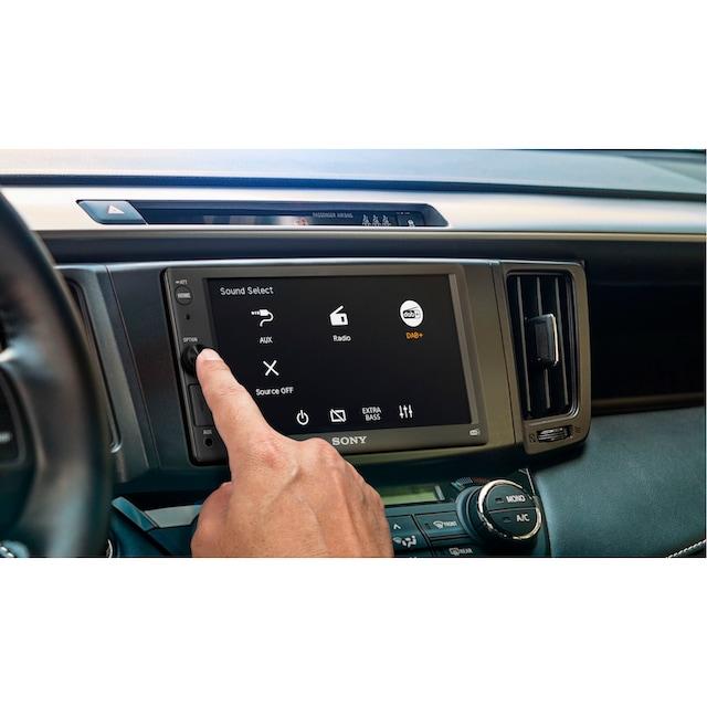 Sony »XAV1550ANTEUR« Autoradio (Digitalradio (DAB+),FM-Tuner, 55 Watt)