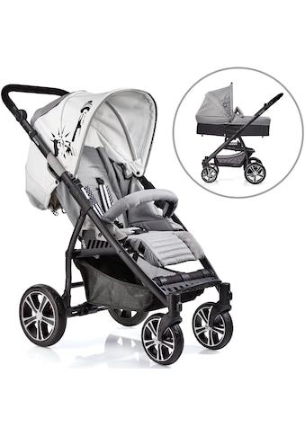 """Gesslein Kombi - Kinderwagen """"S4 Air+, Black/Grau & Babywanne C3 Grau"""" kaufen"""