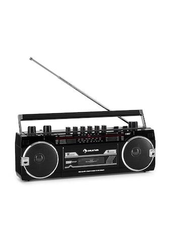 Auna Kassettenrekorder Radio BT USB SD Teleskopantenne kaufen