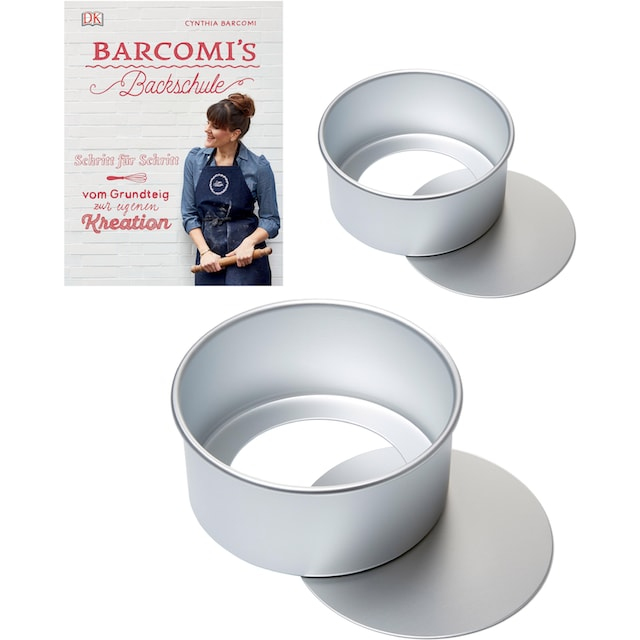 Cynthia Barcomi Backform »Biskuit« (Set, 2tlg.)