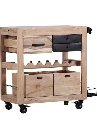 Gutmann Factory Küchenwagen »Trolley4«, Massivholz Akazie kaufen