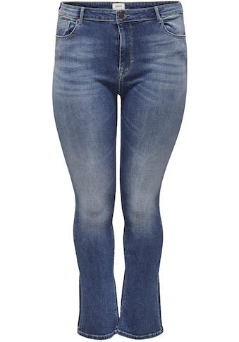 ONLY CARMAKOMA Bootcut-Jeans, mit hoher Leibhöhe kaufen