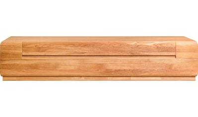 andas Lowboard »Freyr«, aus massivem Eichenholz, Fernsehtisch mit viel Stauraum,... kaufen