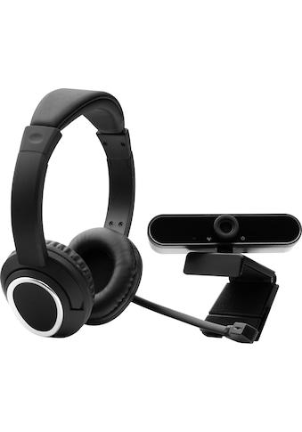 Hyrican Full HD-Webcam »Set PST00182 Office Headset + Full HD Webcam (ST-GH577 +... kaufen