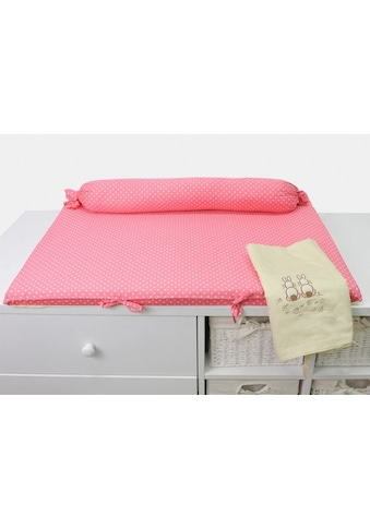 "smarTrike® Wickelauflage ""toTs Wickelmatte Joy Rabbit pink"" kaufen"