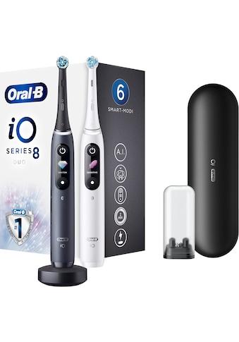 Oral B Elektrische Zahnbürste iO Series 8N mit 2. Handstück, Aufsteckbürsten: 1 Stk. kaufen