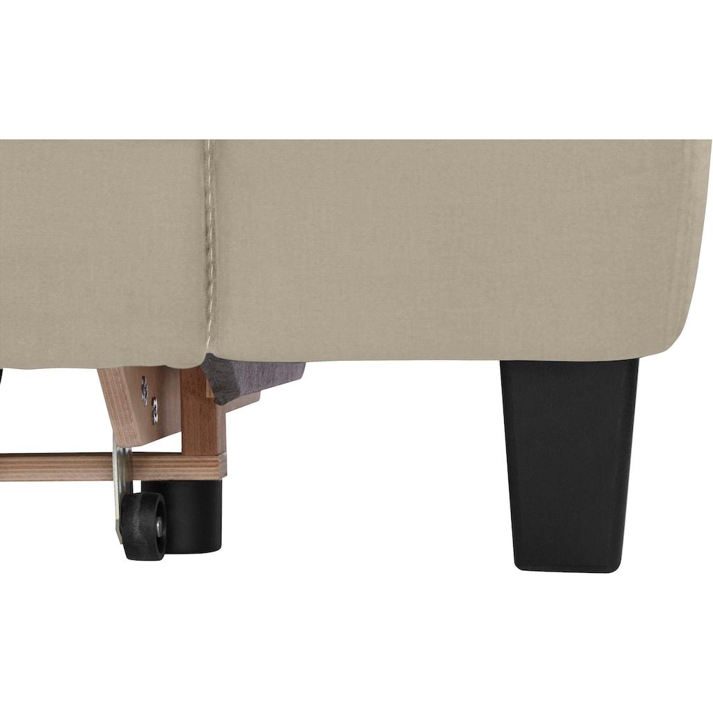 COTTA Ecksofa »Morven«, Inklusive Kopfteilverstellung, wahlweise mit Ladestation, Bettfunktion und Bettkasten