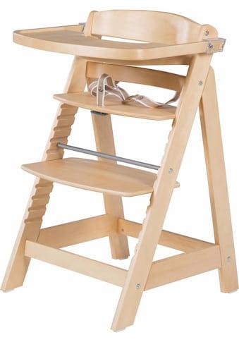 roba® Hochstuhl »Treppenhochstuhl, Sit Up Fun, natur«, aus Holz kaufen