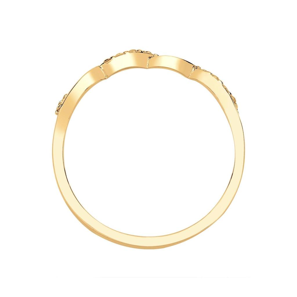 Diamore Diamantring »Infinity - Unendlichkeitsschleife, 0604640414«, mit Diamanten