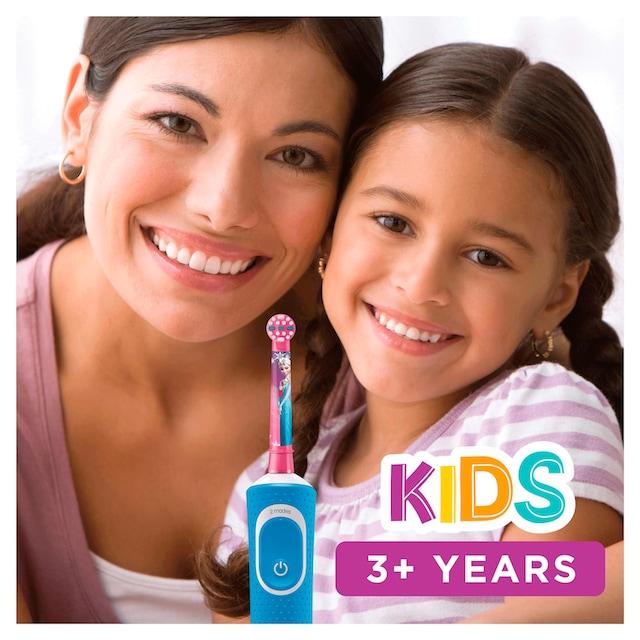 Oral B Elektrische Kinderzahnbürste Frozen Elektrische, Aufsteckbürsten: 1 Stk.