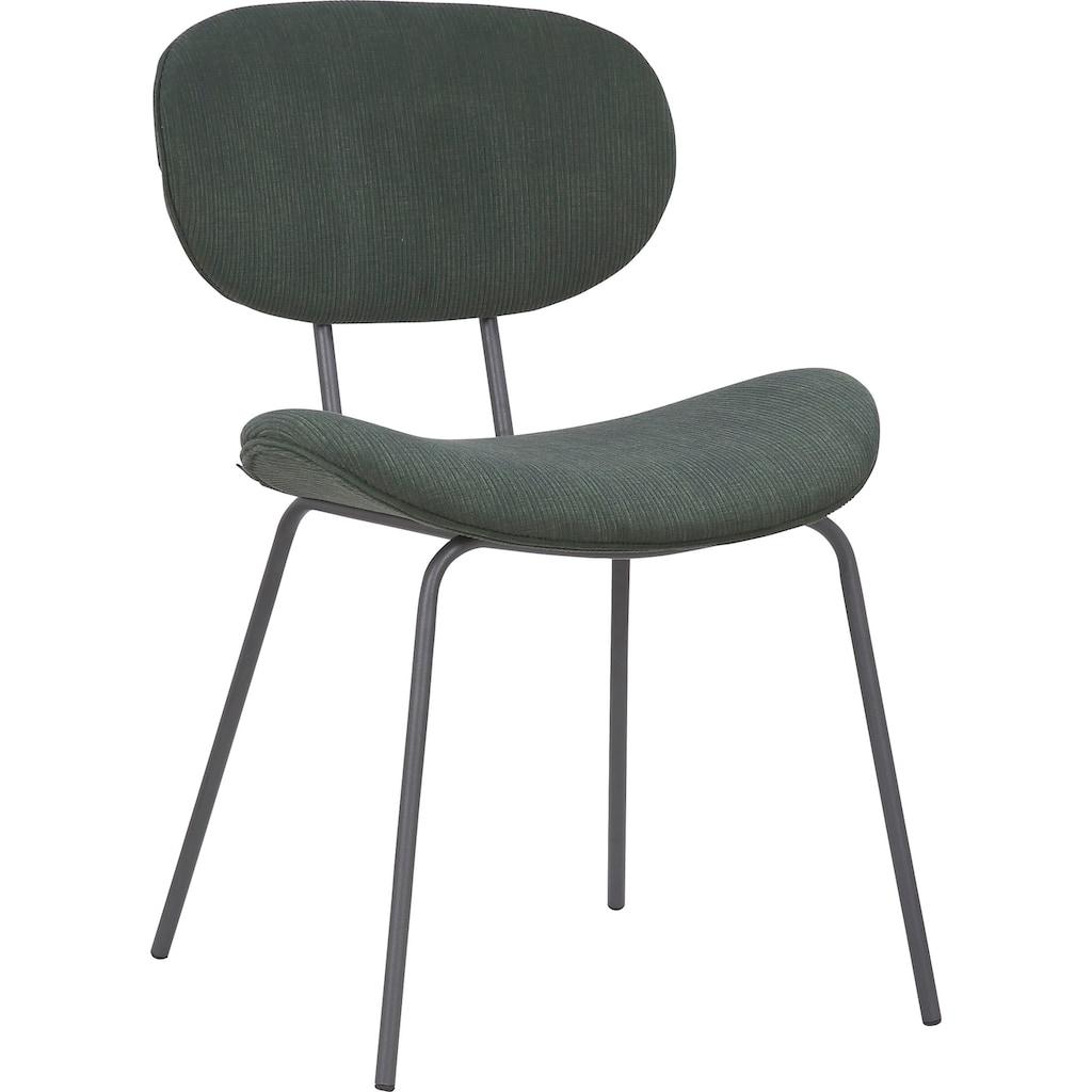 INOSIGN Esszimmerstuhl »Rahel«, 2er-Set, Sitz und Rücken gepolstert, in 3 verschiedenen Farben