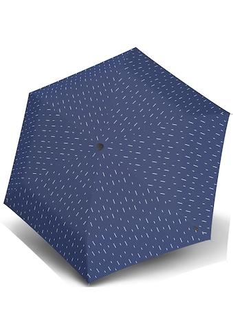 Knirps® Taschenregenschirm »U.200 Ultra Light Duomatic, rain blue« kaufen