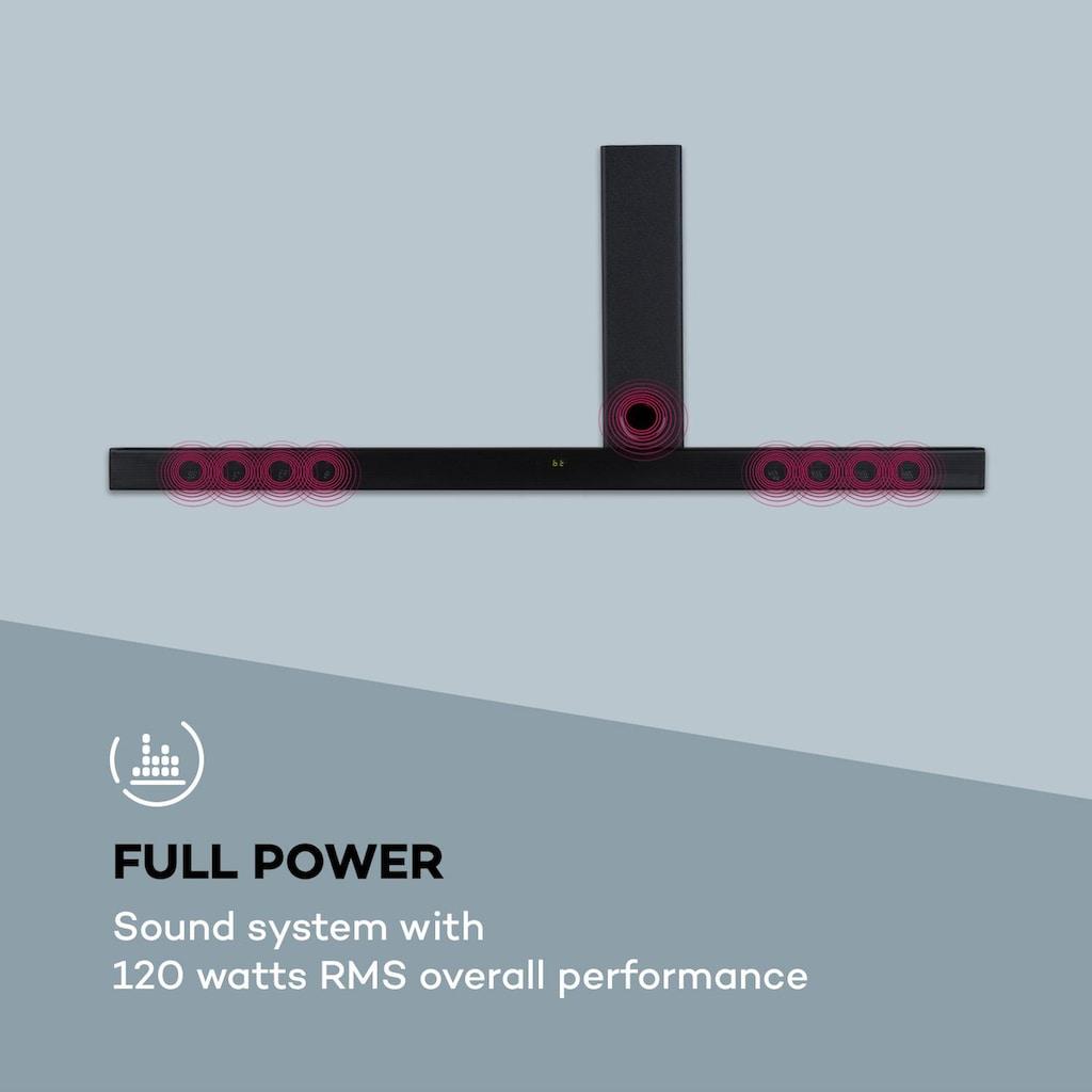 Auna 2.1 Sound System Soundbar 120W RMS-Leistung B