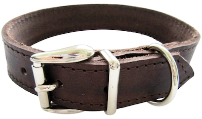HEIM Hunde-Halsband, Echtleder, Länge: 55 cm kaufen