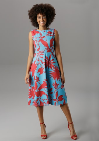 Aniston SELECTED Sommerkleid, im modischen Druck kaufen