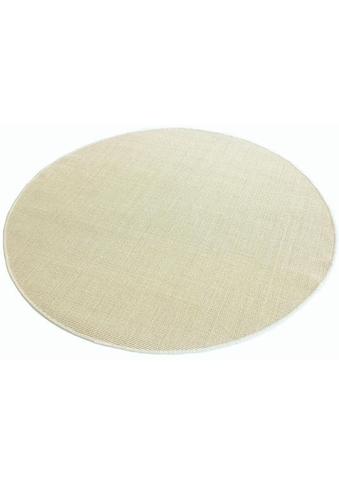 Living Line Sisalteppich »Trumpf«, rund, 6 mm Höhe, Obermaterial: 100% Sisal, Wohnzimmer kaufen