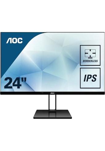 AOC »24V2Q« LCD - Monitor (23,8 Zoll, 1920 x 1080 Pixel, Full HD, 5 ms Reaktionszeit, 75 Hz) kaufen