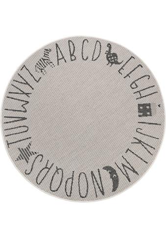 Kinderteppich, »Alphabet«, Lüttenhütt, rund, Höhe 3 mm kaufen