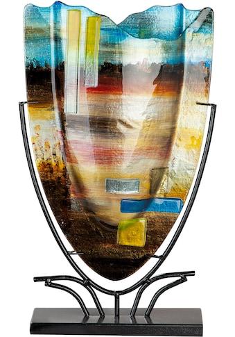 GILDE GLAS art Dekovase »Campo«, aus Glas, Höhe ca. 48 cm kaufen