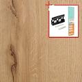 BODENMEISTER Spar-Set: Laminat »Dielenoptik Eiche beige rustikal«, 1376 x 193 mm, Stärke: 7mm