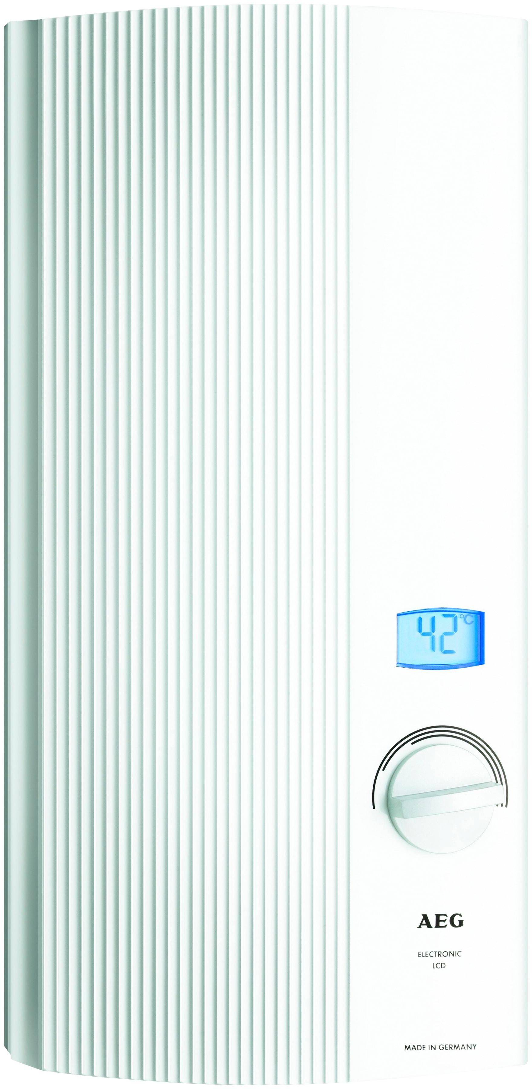 AEG Durchlauferhitzer »DDLE-LCD18/21/24« | Baumarkt > Heizung und Klima > Durchlauferhitzer | AEG