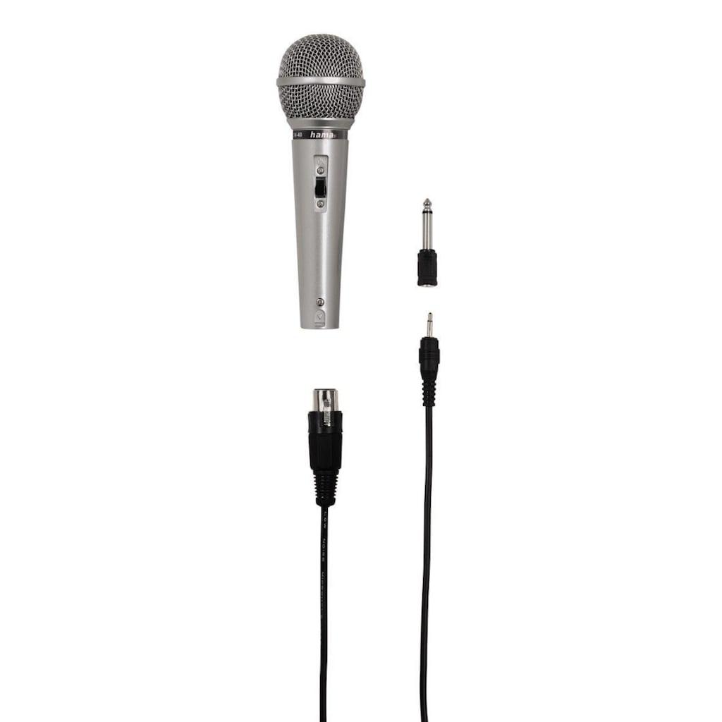 "Hama Dynamisches Mikrofon ""DM 40"""