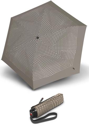 Knirps® Taschenregenschirm »TS.010 Slim Small Manual bolero taupe« kaufen