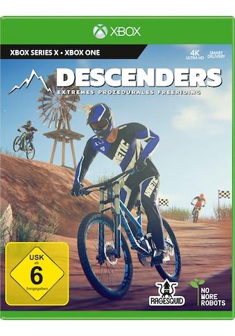 Xbox One Spiel »Descenders«, Xbox Series X kaufen
