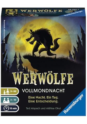 Ravensburger Spiel »Werwölfe Vollmondnacht«, Made in Europe, FSC® - schützt Wald -... kaufen