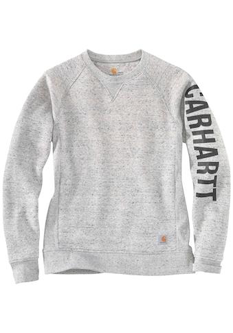 Carhartt Sweatshirt »CLARKSBURG CREWNECK«, ASPHALT HEATHER NEP kaufen