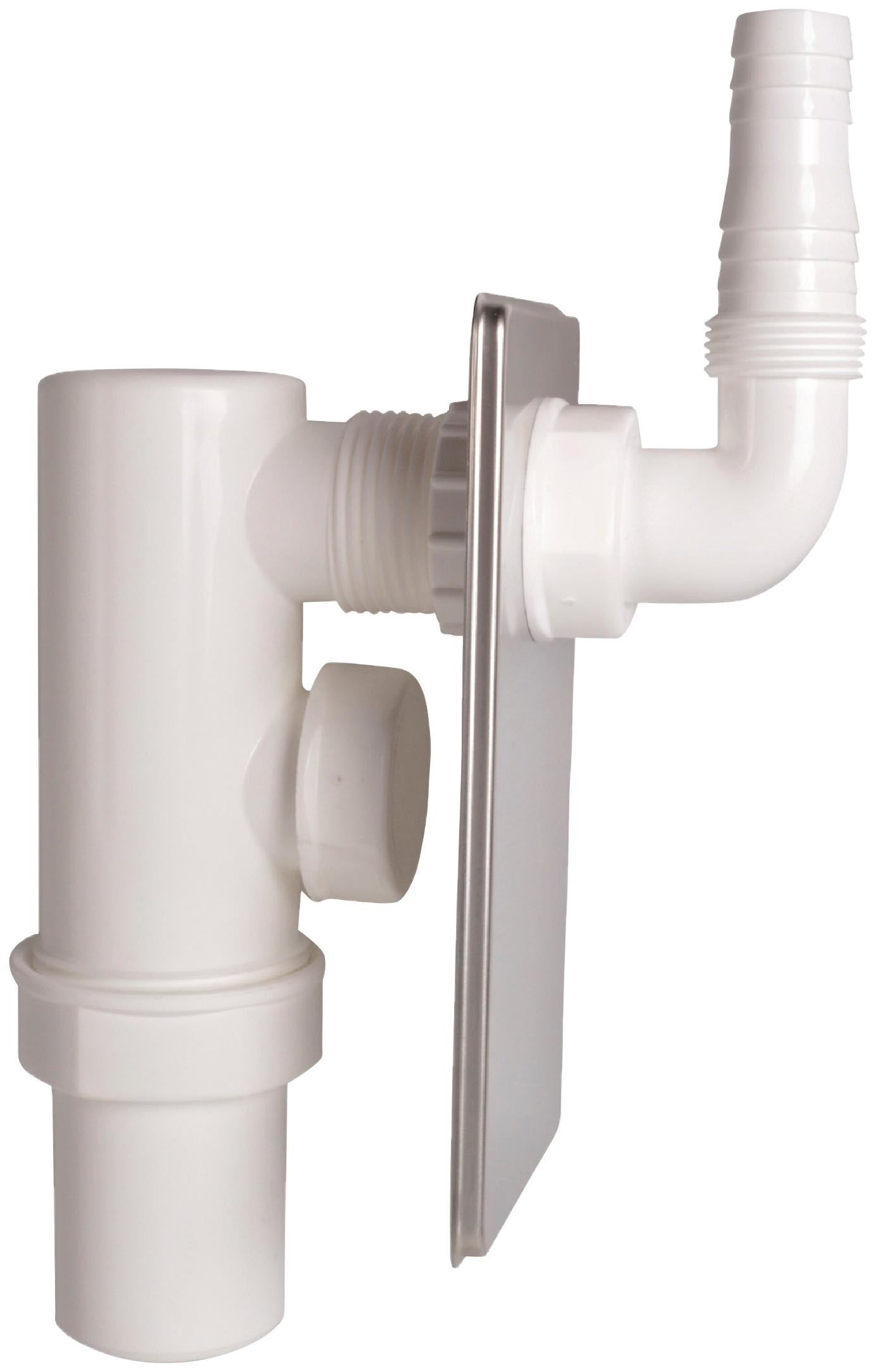 KIRCHHOFF Siphon Unterputz, für Waschmaschinen | Bad > Waschmaschinen und Trockner > Waschmaschinen Zubehör | Edelstahl | KIRCHHOFF