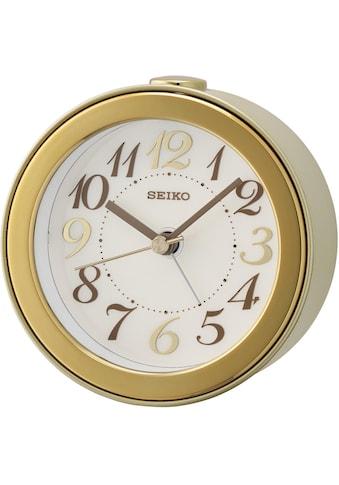 Seiko Quarzwecker »QHE172G«, mit aufblinkendem LED-Licht bei Alarm kaufen