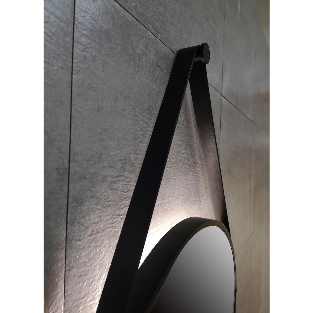 TALOS Spiegel »Black Light«, Ø 50 cm, runder Spiegel mit Beleuchtung