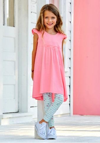 KIDSWORLD Kleid & Leggings, niedlich gemustert kaufen