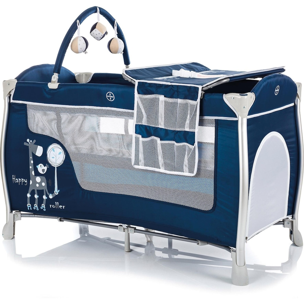 Fillikid Baby-Reisebett »Supreme, marine«, inkl. Transporttasche
