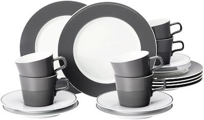 Seltmann Weiden Kaffeeservice »No Limits Moments«, (Set, 18 tlg., 6 Kaffeetassen 0,22... kaufen