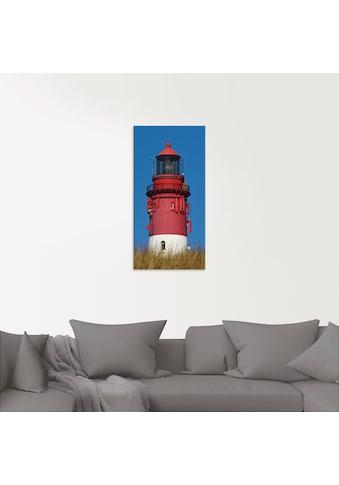 Artland Glasbild »Amrumer Leuchtturm« kaufen
