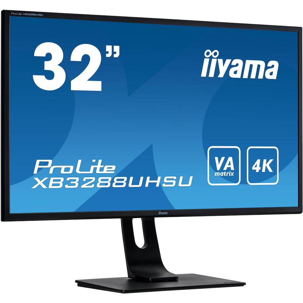 "Iiyama Gaming-Monitor »ProLite XB3288UHSU-B1«, 81,3 cm/31,5 "", 3840 x 2160 px, 4K Ultra HD, 3 ms Reaktionszeit, 60 Hz"