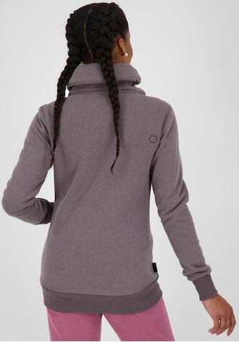 Alife & Kickin Sweatshirt »VivianAK«, sportive Sweatjacke mit hohen Kuschel-Kragen kaufen